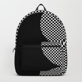 It could be a Semicolon...BUT...there is an additional dot. So it's more like a scorpion tail. Backpack