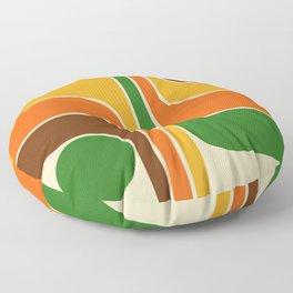 Retro Geometric Design 722 Floor Pillow