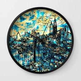 OLD NY - 3 Wall Clock