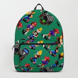 Monsters hunters pattern | zamn02gg | retro gaming vintage Backpack