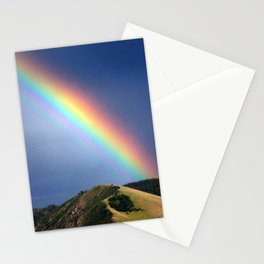 missoula marathon rainbow Stationery Cards