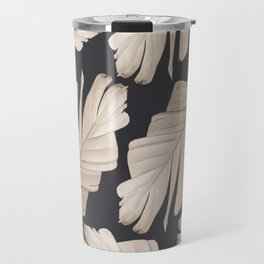 Sepia Banana Leaves Dream #1 #foliage #decor #art #society6 Travel Mug