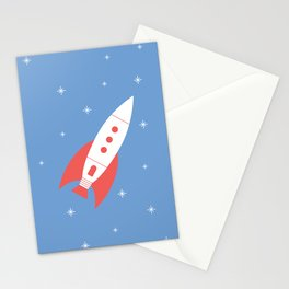 #78 Rocket Stationery Cards