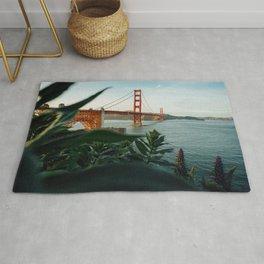 San Francisco Bridge Plant (Color) Rug
