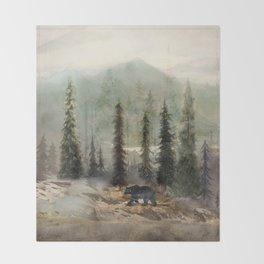 Mountain Black Bear Decke