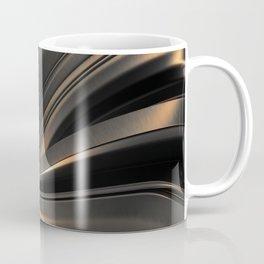 Dark Gold Abstraction Coffee Mug