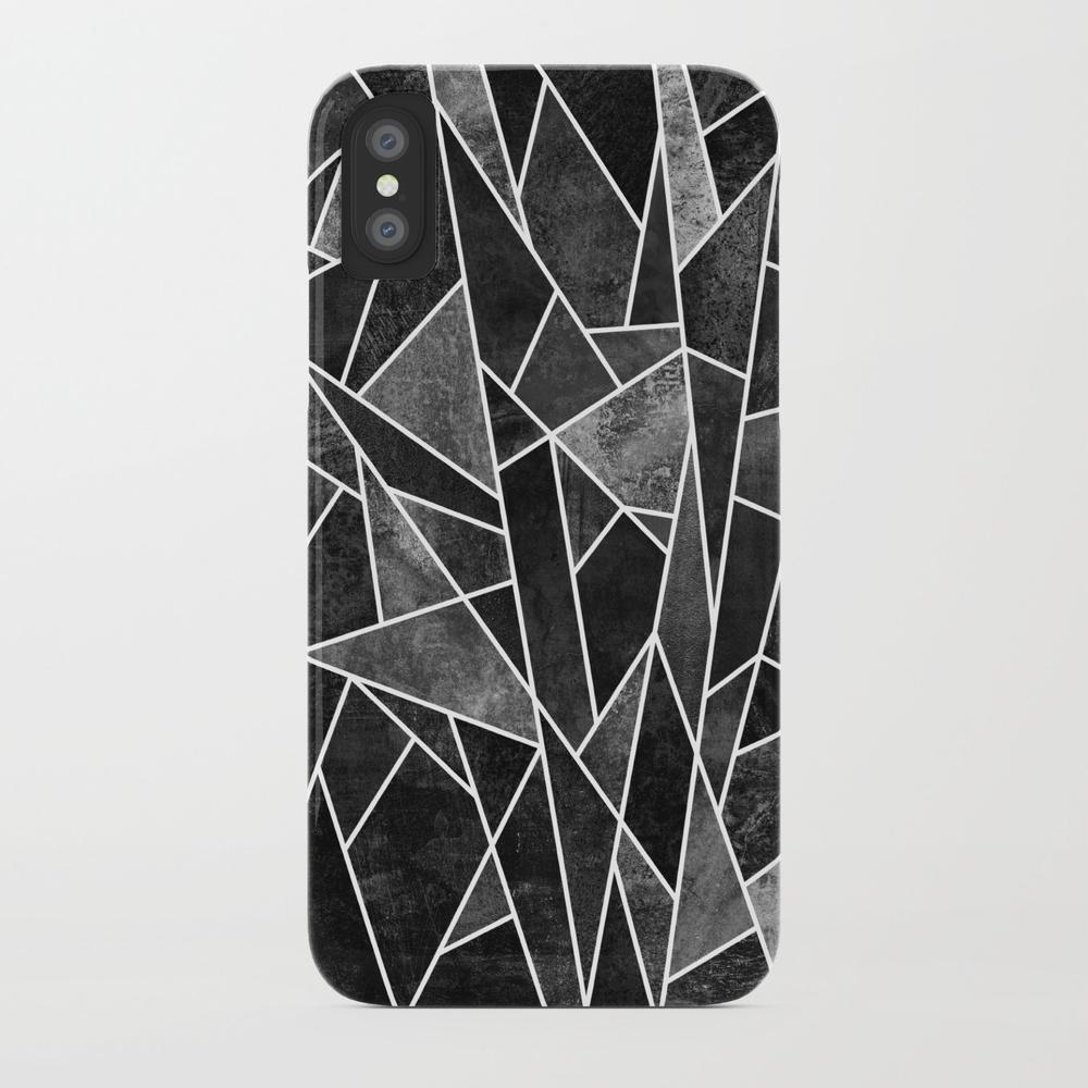 Shattered Black Phone Case by Elisabethfredriksson PCS4088728