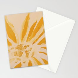 Sun Blooming Flower Stationery Cards