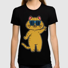 Cat Funny Cool Christmas Gift T-shirt