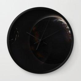 The Antediluvian Planet Wall Clock