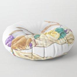 Seamstress Floor Pillow