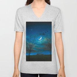 The Moon Gate Unisex V-Neck
