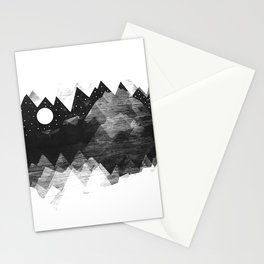 Torn Mounts Stationery Cards