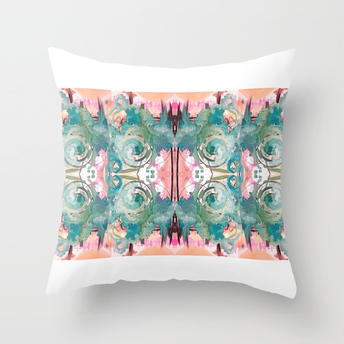 Mysterious Tuesday Throw Pillow