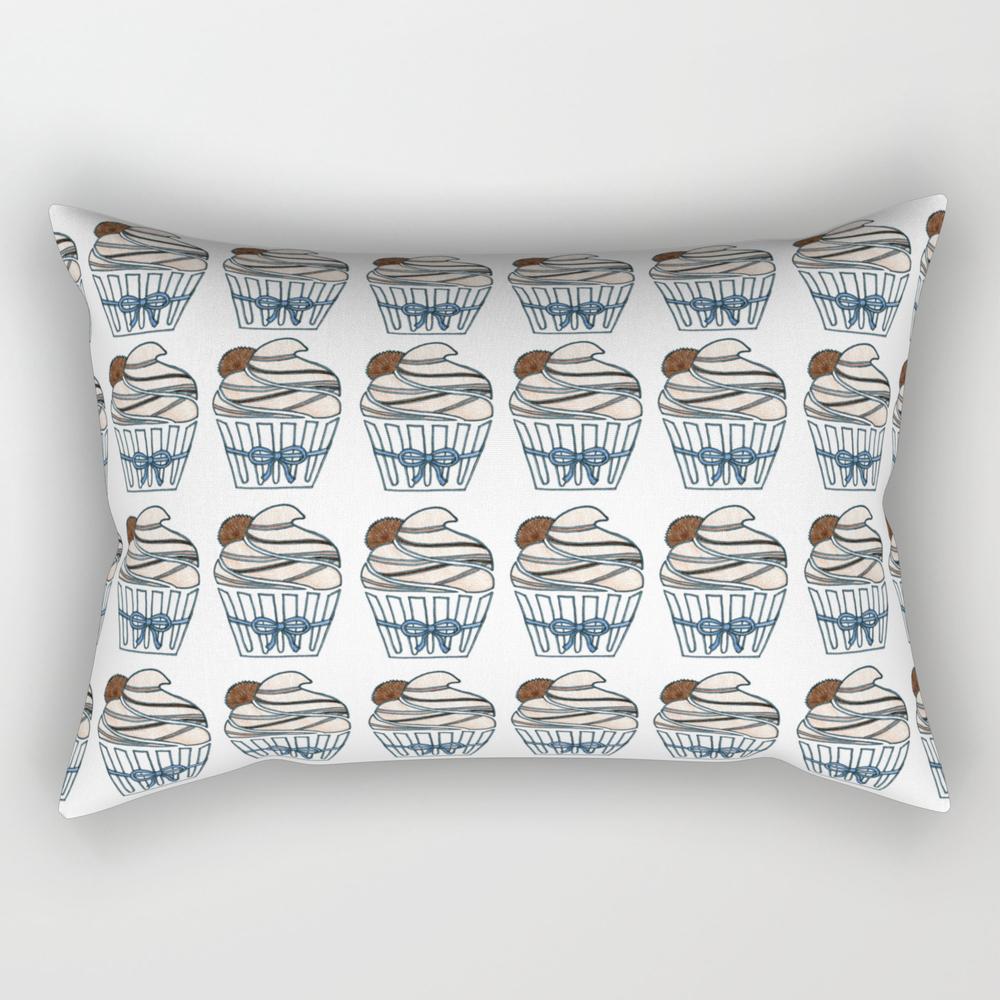 Peanut Butter Cup Cupcake Rectangular Pillow RPW7823996