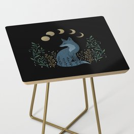 Fox on the Hill Side Table