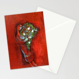 Mujer latina Stationery Cards