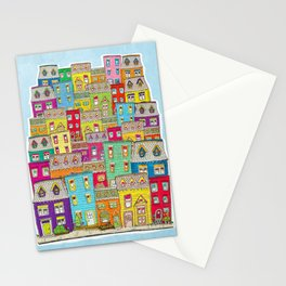 Way Downtown Stationery Cards