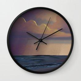 The Colorful Sea Wall Clock