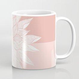 Earthy Tones Dahlia Fill Coffee Mug
