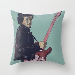 The Boss Bruce Throw Pillow