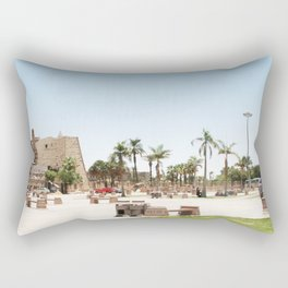 Temple of Luxor, no. 24 Rectangular Pillow