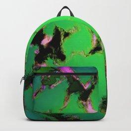 Soft green shatter Backpack