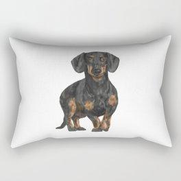 Daschund Rectangular Pillow