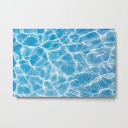 Sea Waves in The Ocean Metal Print