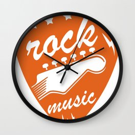 Hard Rock Musik Punk Grunge Geschenk Shirt Cooles Shirt Wall Clock