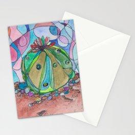 Lophophora Cactus Stationery Cards