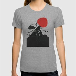 Joan Miro, FEMME DEVANT LE SOLEIL I, Woman Before The Sun I Artwork, Prints, Tshirts, Posters, Men, T-shirt