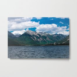 Twin Lakes Metal Print