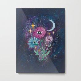 Moonflowers Metal Print