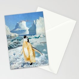 Penguin Chick In The Arctic Stationery Cards