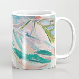Edvard Munch - Landscape of Kragerø Coffee Mug