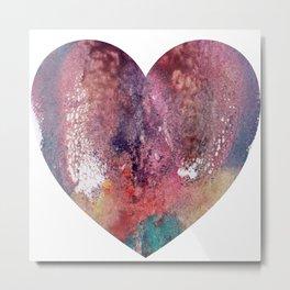 Remedy Sky's Heart Shaped Vulva Metal Print