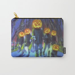 Attack of the Jack-O-Lanterns Carry-All Pouch
