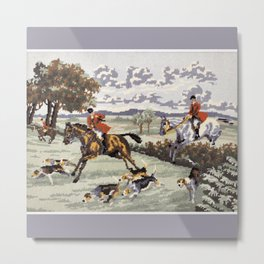 Tally Ho Metal Print