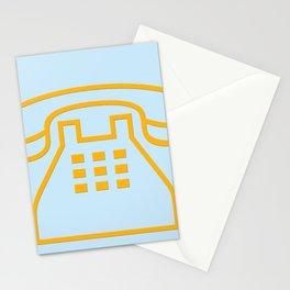 telephone symbol illustration Stationery Cards