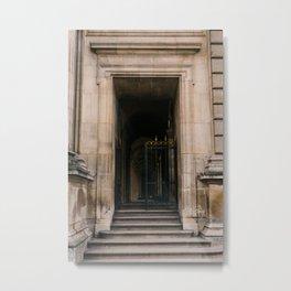 Louvre VI Metal Print