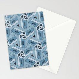 Angle Iron Blues Tessellation Stationery Cards