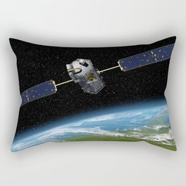 Artists concept of the Orbiting Carbon Observatory Rectangular Pillow