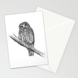 Morepork Owl Stationery Cards