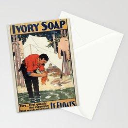 Vintage poster - Soap Stationery Cards