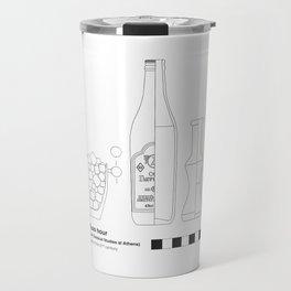 Ouzo ASCSA - Archaeological Drawing Travel Mug