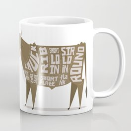 Beef Cuts Coffee Mug