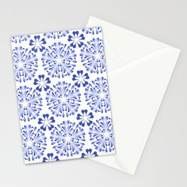 Blue willow China Floral pattern  Stationery Cards