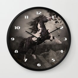 Fleeing from the apocalypse Wall Clock