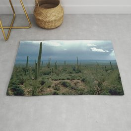 Arizona Desert and Cactuses Rug